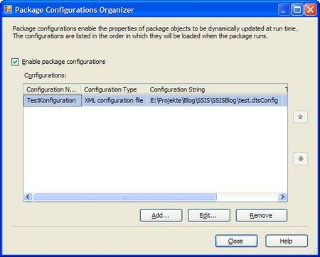 Erstellen von Konfigurationsdateien