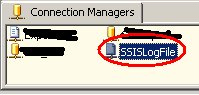SSISLogFile im Connection Manager
